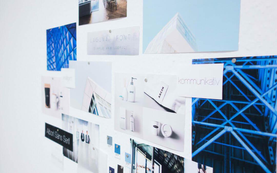 Erstellung einer Farbpalette während dem Designprozess